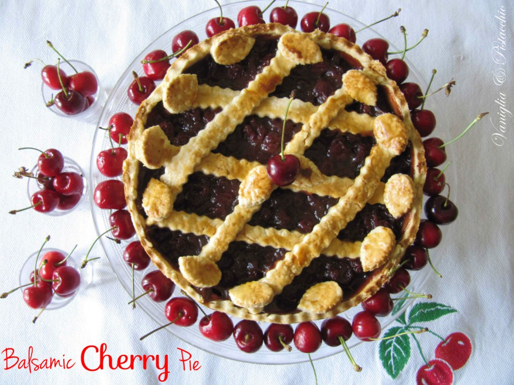 Balsamic Cherry Pie, Re-Cake