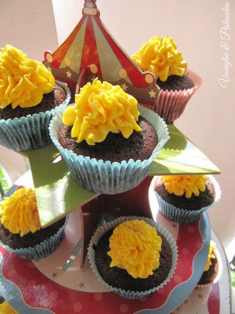 cupcakes al cacao