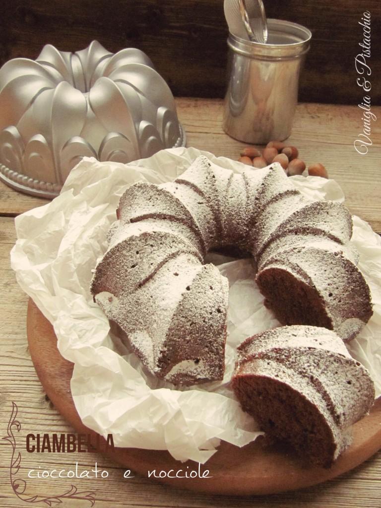 Ciambella cioccolato e nocciole