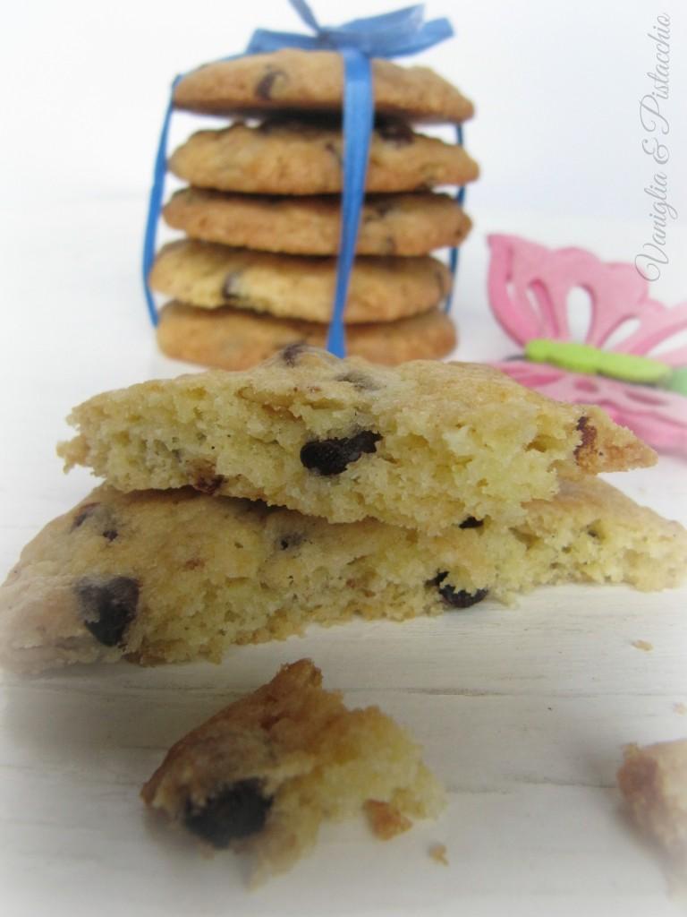 cookies cioccolato e fiocchi d'avena