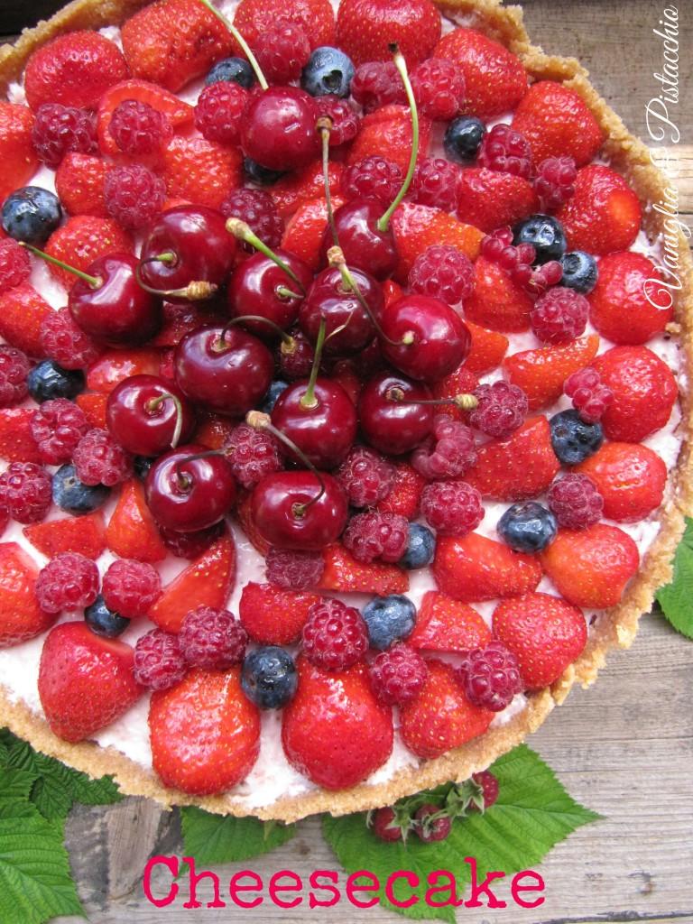 cheesecake- senza- forno