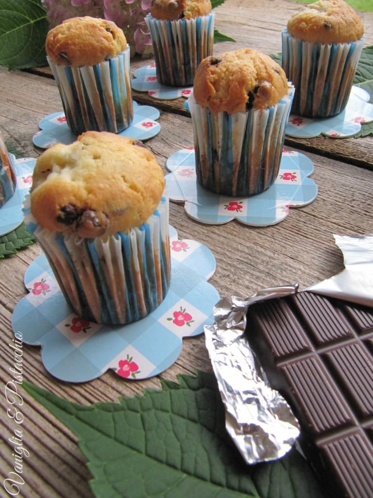 Muffins cioccolato e banana