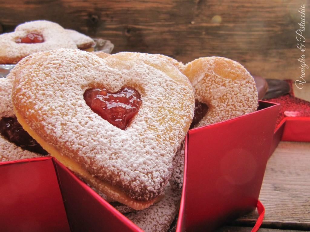 biscotti cuor di fragola