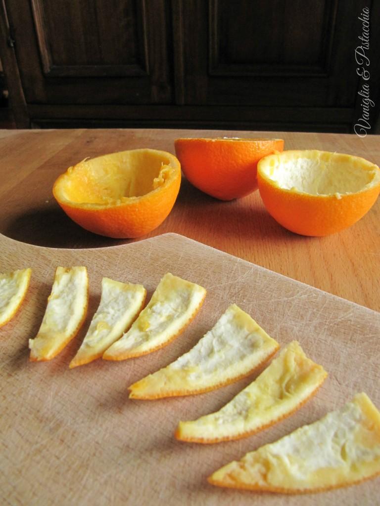Scorzette d'arancia al cioccolato