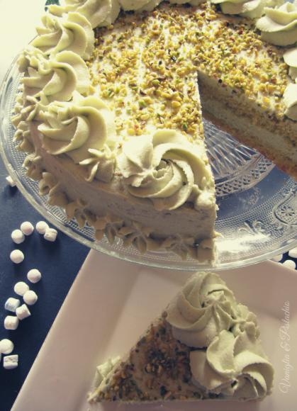 ricetta torta al pistacchio