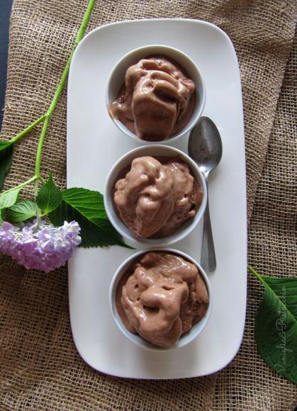 gelato cioccolato senza gelatiera